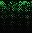 abstractal diagonal square pattern - mosaic tile vector image vector image