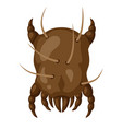 icon dust mite insect vector image