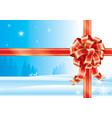 season ribbons vector image vector image