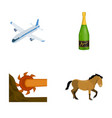 sport celebration winemaking and other web icon vector image vector image