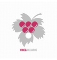wine and billiards concept design background vector image