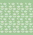 elegant color holland tulip repeatable motif vector image