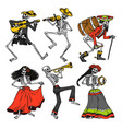 day dead mexican national holiday vector image vector image