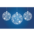 decorative Christmas vector image vector image