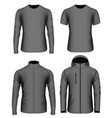 mens clothes vector image vector image
