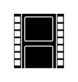 movie reel isolated vector image vector image