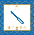 screwdriver icon symbol vector image vector image