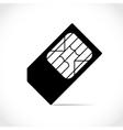 Sim cards vector image vector image