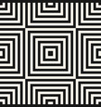 abstract black geometric squares seamless pattern vector image