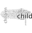 childproyour home to keep your little one safe vector image vector image