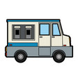food truck sideviewicon image vector image vector image