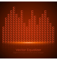 Glass Equalizer vector image