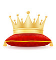 King royal golden crown