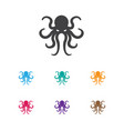 of animal symbol on octopus vector image vector image