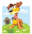 puppy vector image vector image