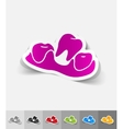 realistic design element lost tooth vector image vector image