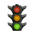 Traffi lights vector image