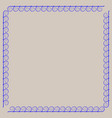 frame blue 2 1909 vector image vector image