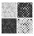 tileable simple texture from small black and white vector image