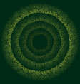 abstract green persian background vector image
