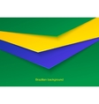 Abstract seamless brazilian background vector image vector image