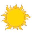 Full Summer Sun vector image vector image
