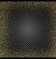 golden glitter texture rain golden gold confetti vector image vector image