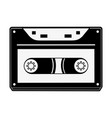 old cassette media vector image vector image