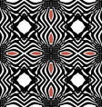 seamless black pattern orient vector image