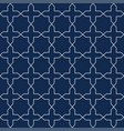 seamless ornamental pattern - simple design vector image vector image