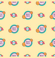 super sale extra bonus seamless pattern business vector image