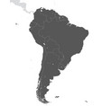territory south america continent white vector image vector image