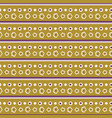 tiny daisy flower stripes pattern seamless vector image vector image