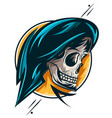 skull01 vector image