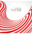 Abstract business background with 3d lines vector image vector image