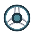 Car rudder wheel vector image vector image