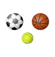 Cartoon sport equipment set