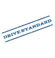 Drive Standard Watermark Stamp vector image vector image