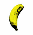 isolated banana vector image vector image