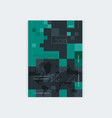 minimalistic brochure template design vector image vector image