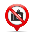 No Photo Sign vector image vector image