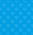 paper map pattern seamless blue vector image