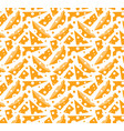 swiss cheese pattern on a white background vector image