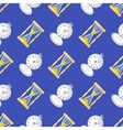 clock watches seamless pattern vector image