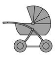 buggy isolated object image vector image vector image