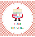 Merry Christmas greeting card32 vector image vector image