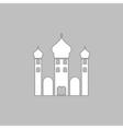 Mosque computer symbol vector image