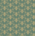 retro green background vector image vector image