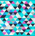 triangle seamless texture vector image vector image