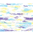 Pattern of colorful brush strokes vector image